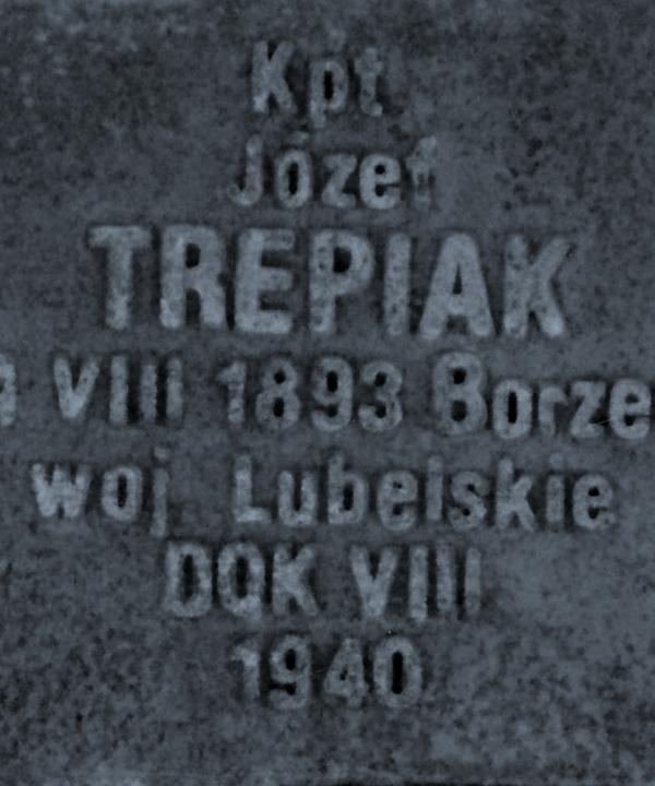 Nagrobek Józefa Trepiaka